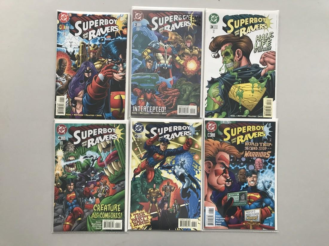 Lot of 12 Superboy and the Ravers (1996) #1-16 NM Near