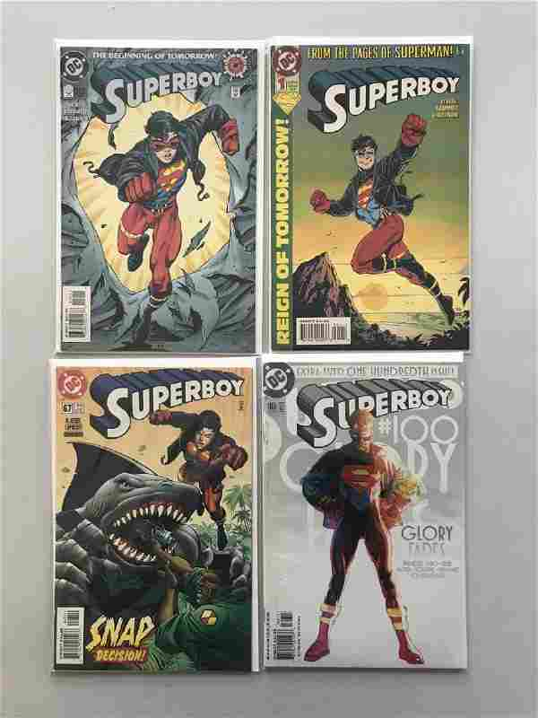 Lot of 8 Superboy (1994 3rd Series) #0 1 67 100 (2011