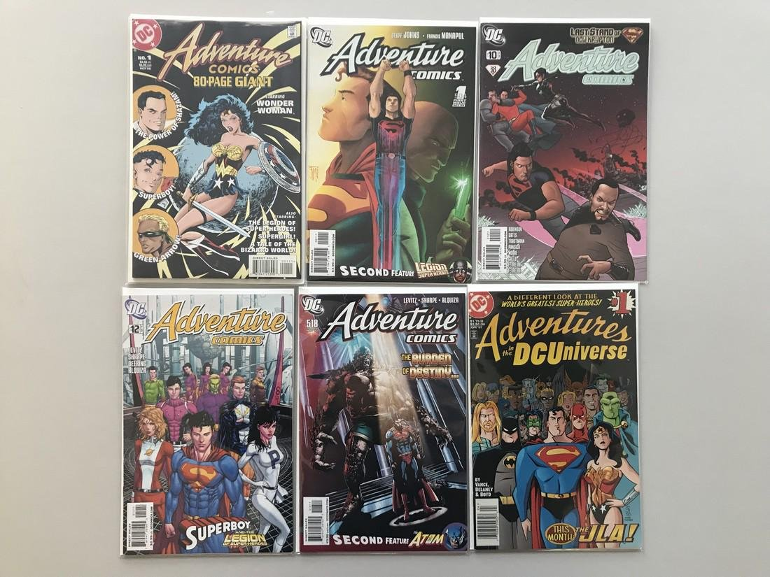 Lot of 6 Adventure Comics 80-Page Giant (1998) #1