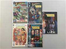 Lot of 9 Superman Wonder Woman (2013) #1-26 Brave and