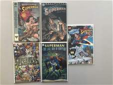 Lot of 5 Realworlds Superman (2000) #1 Superboy's