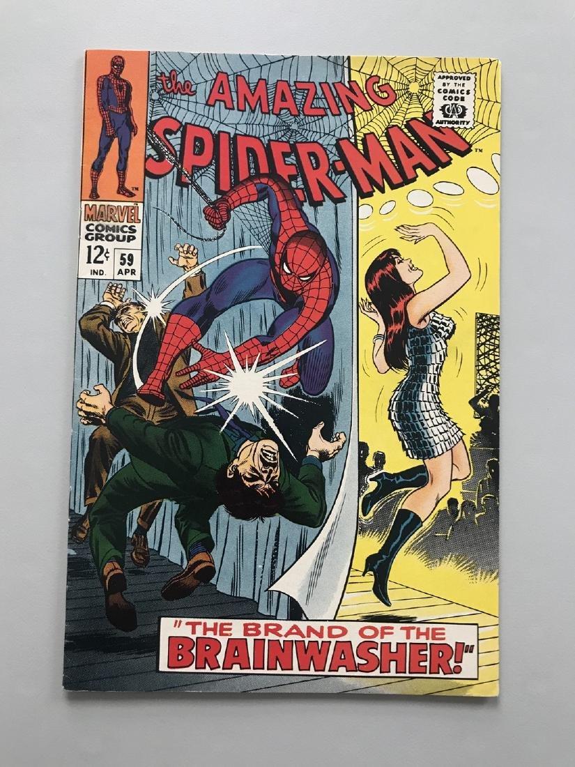 Amazing Spider-Man (1963 1st Series) #59 1st Mary Jane