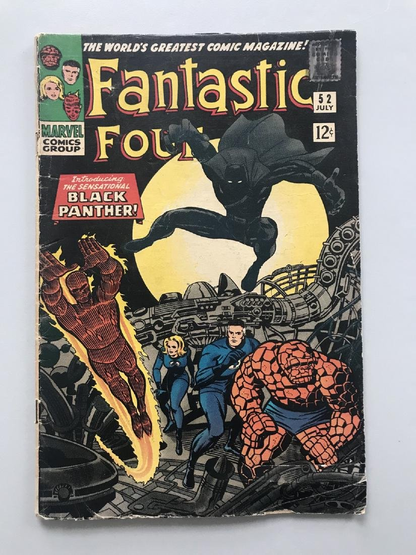 Fantastic Four (1961 1st Series) #52 First Appearance