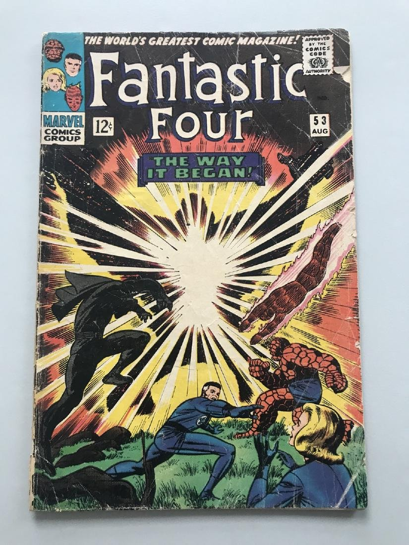 Fantastic Four (1961 1st Series) #53 Second Appearance