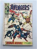 Avengers (1963 1st Series) #58 Roy Thomas John Buscema