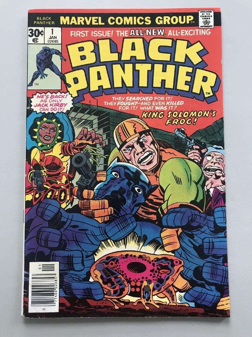 Black Panther (1977 Marvel 1st Series) #1 Jack Kirby FN