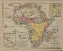 1839 Mitchell Map of Africa -- No. 25 Map of Africa