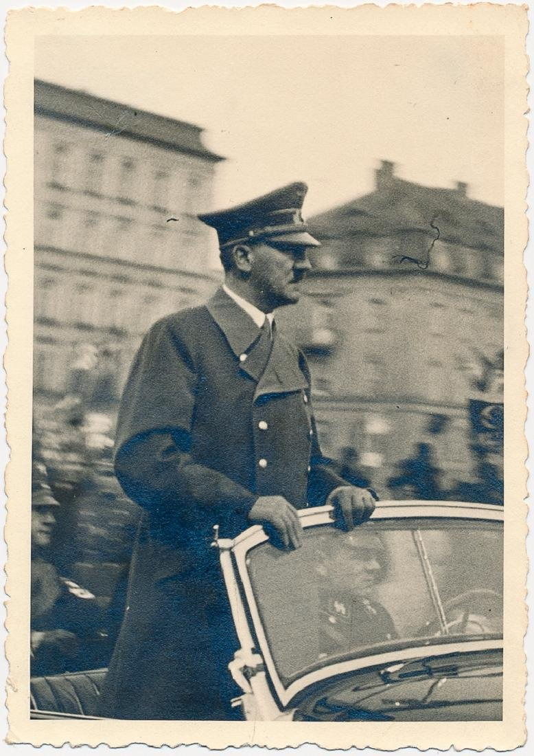 ORIGINAL PHOTOGRAPH OF ADOLF HITLER