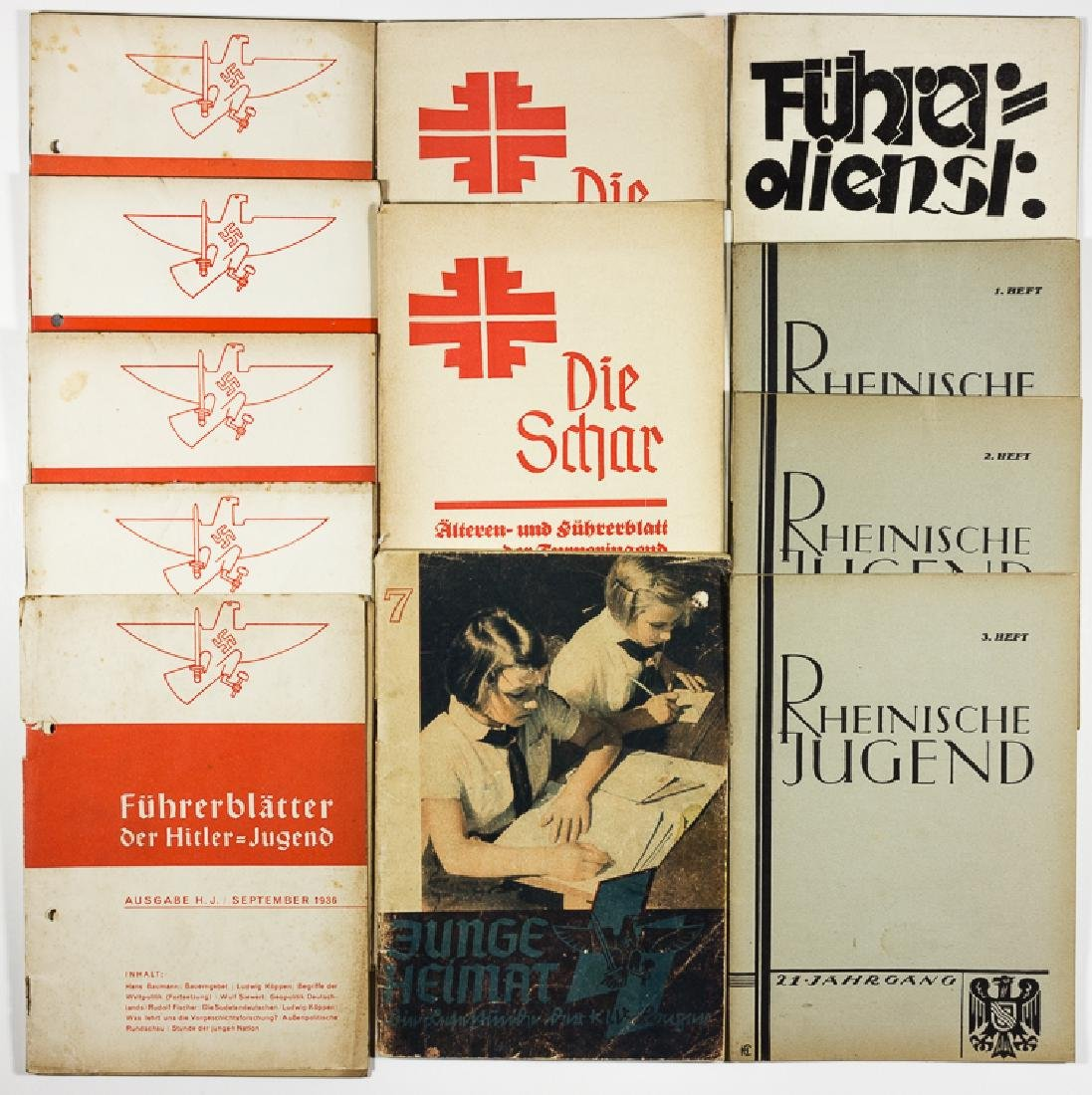 GERMAN YOUTH ORGANIZATION EDUCATIONAL BOOKLETS