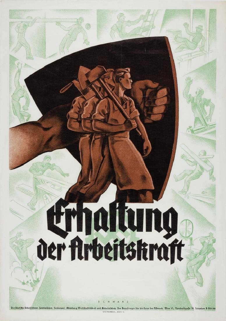 GERMAN LABOR FRONT POSTER