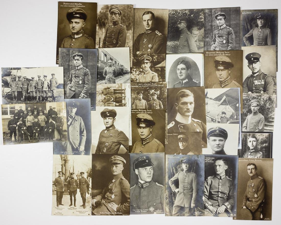 30 GERMAN PILOTS OF WORLD WAR I
