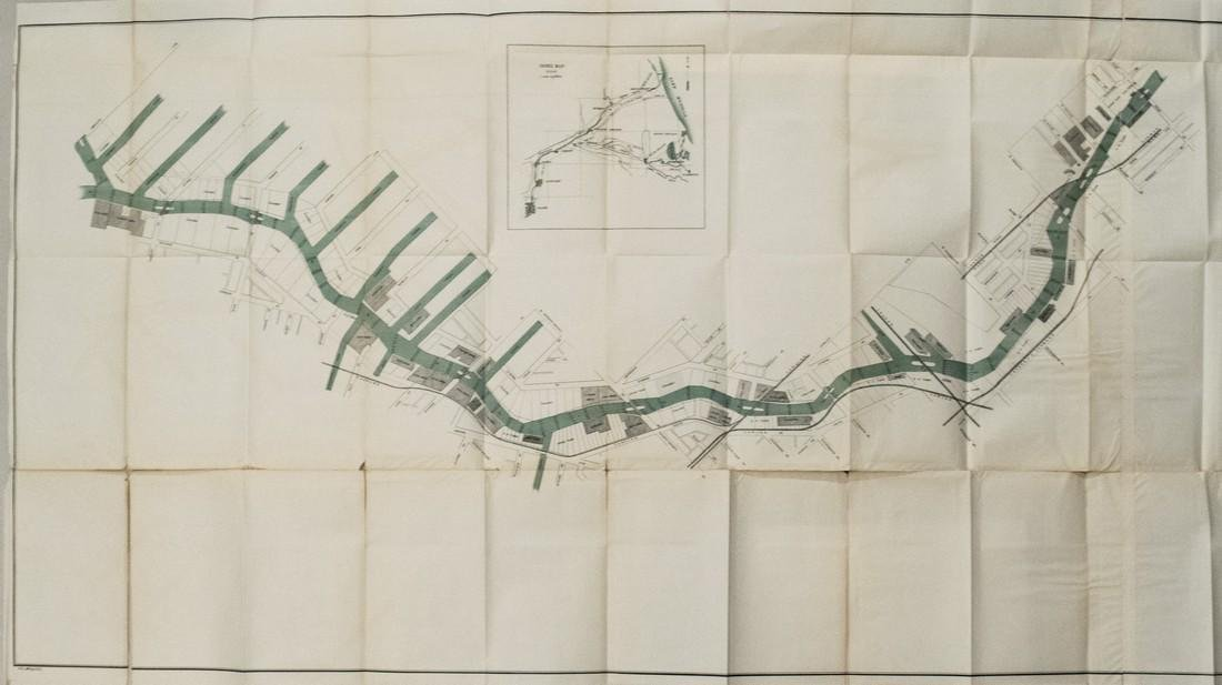 Plan for a Canal, Chicago's Lake to Missisippi River