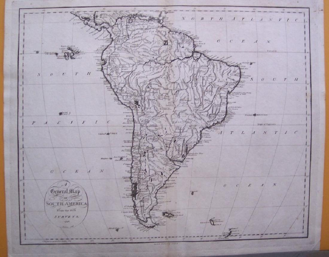 General Map of South America from the Best Surveys,