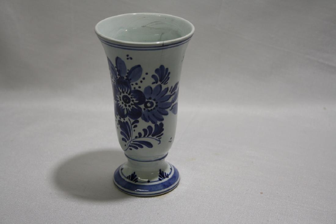 Delft Porcelain Vase