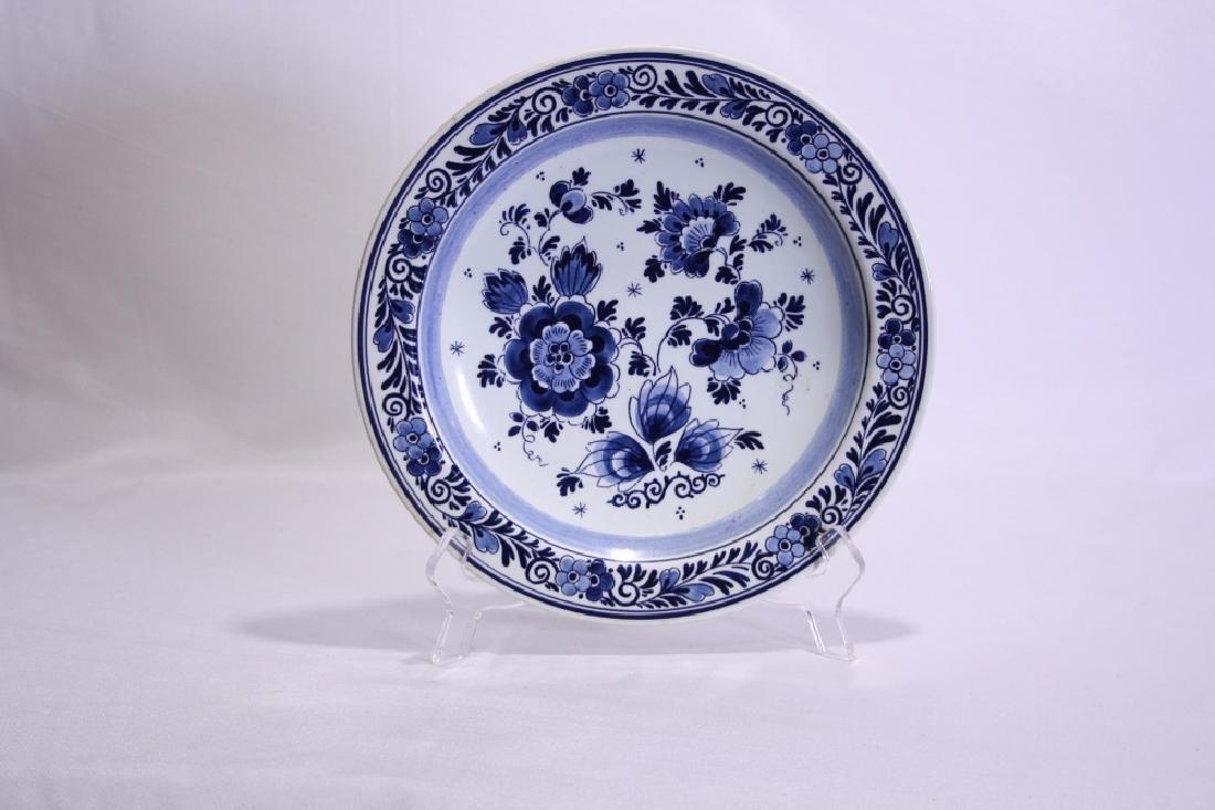 Decorative Porcelain Delft Plate