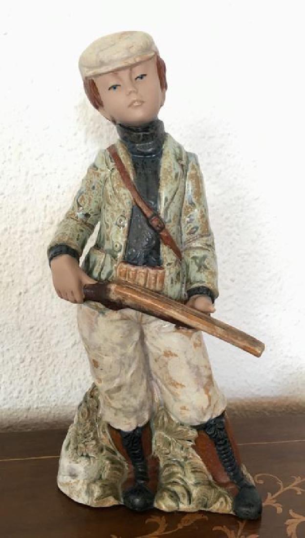 Levantina - Child Hunter - Porcelain Artistic