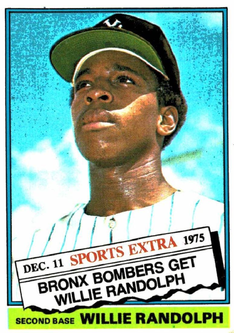 1976 Topps Traded Willie Randolph