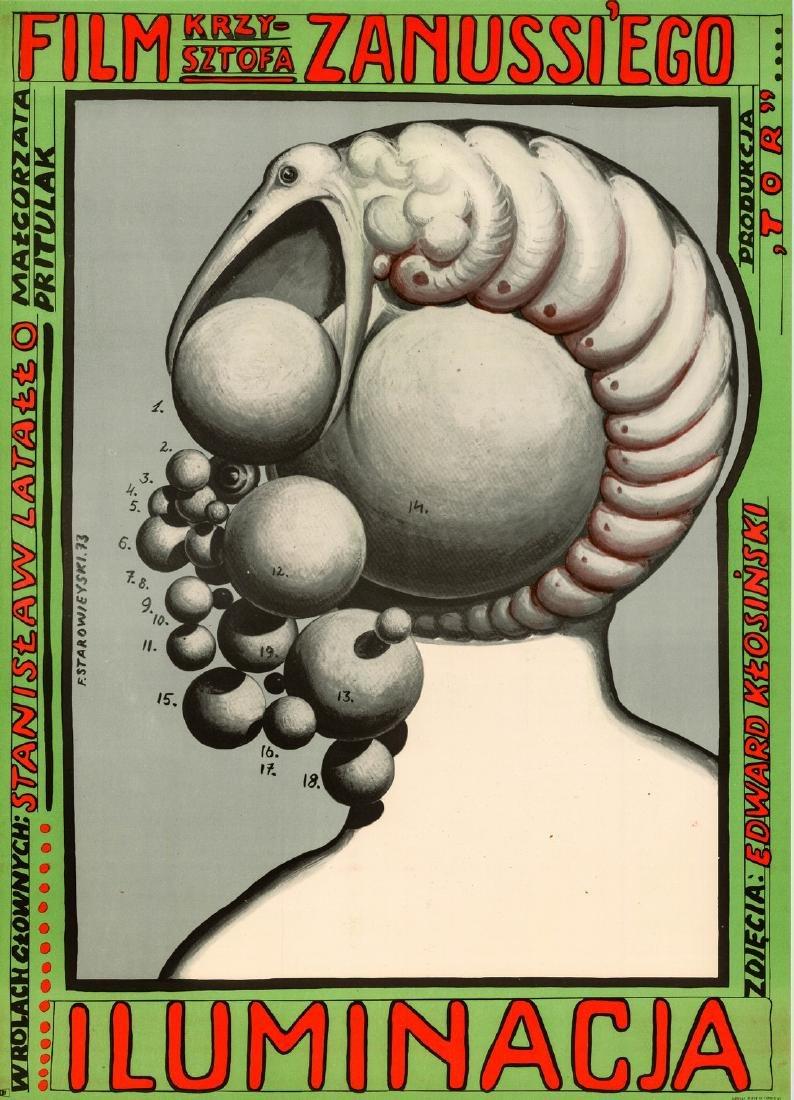 The Illumination 1973 Polish poster