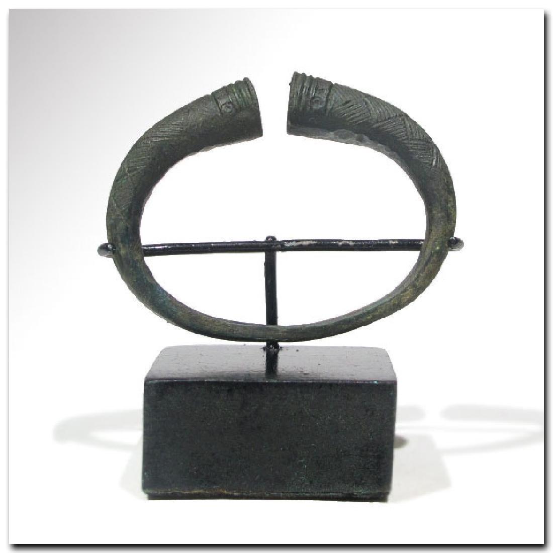 Viking Bronze Bracelet, c. 10th Century A.D.