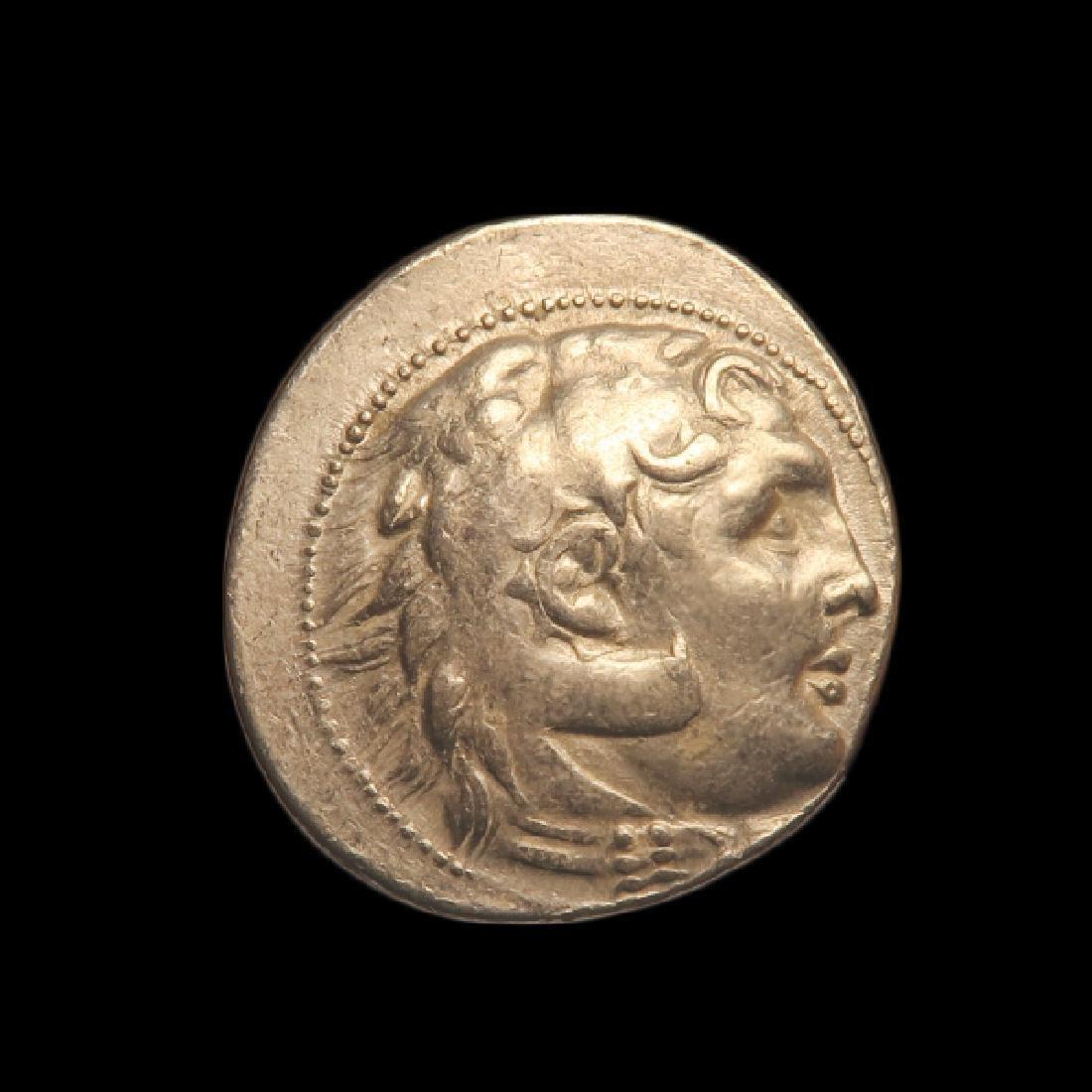 Greek Silver Tetradrachm Alexander Great Macedon 323 BC