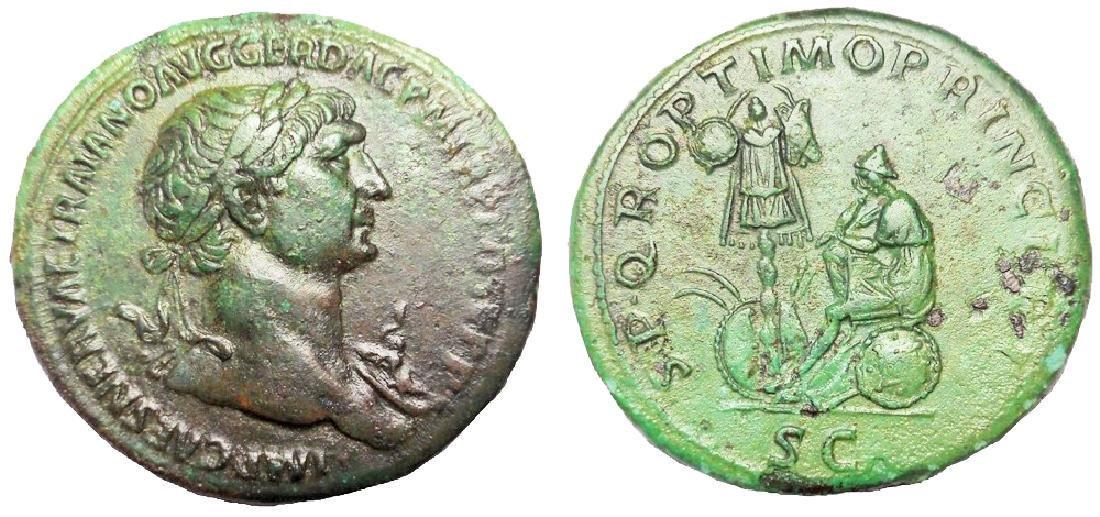 Trajan Sestertius