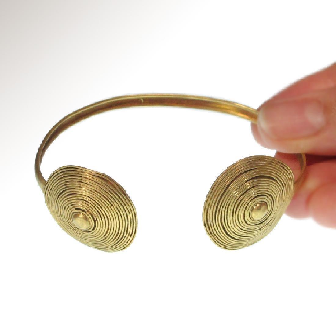 Roman Gold Bracelet, c. 2nd-3rd Century A.D.