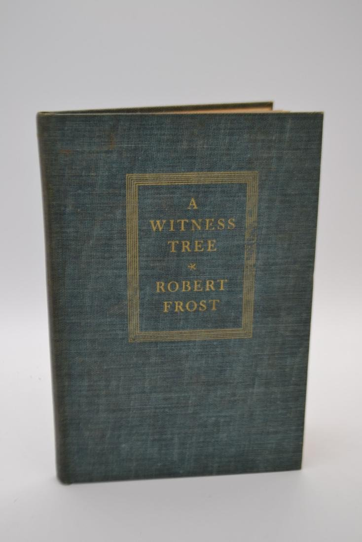 A Witness Tree Frost, Robert 1942 First Edition