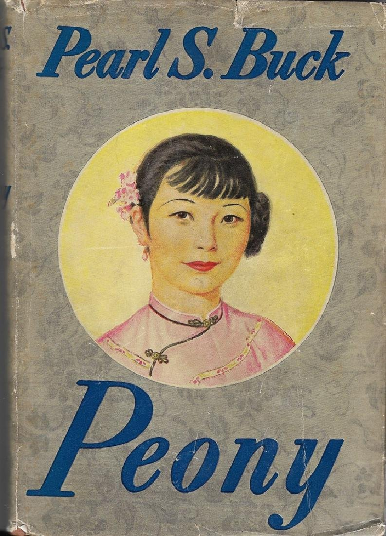 Peony; 1st Edition 1st Print in DJ