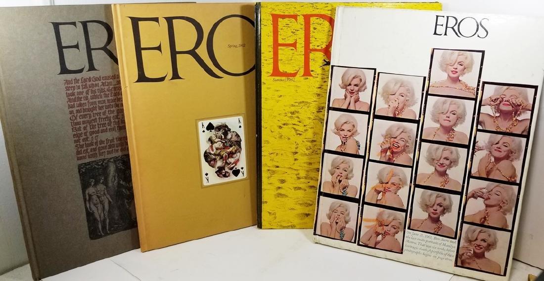 Eros Magazine: Winter, Spring, Summer, Fall 1962 Set