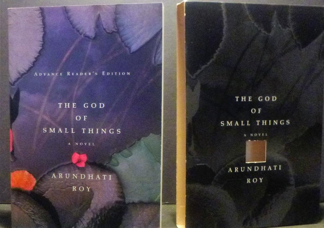 The God of Small Things Arundhati Signed 1st Edition