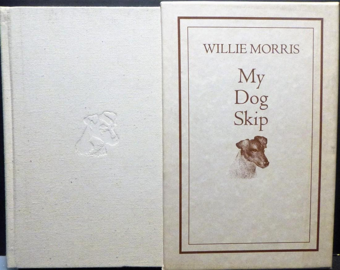 My Dog Skip Willie Morris Signed 1st Edition
