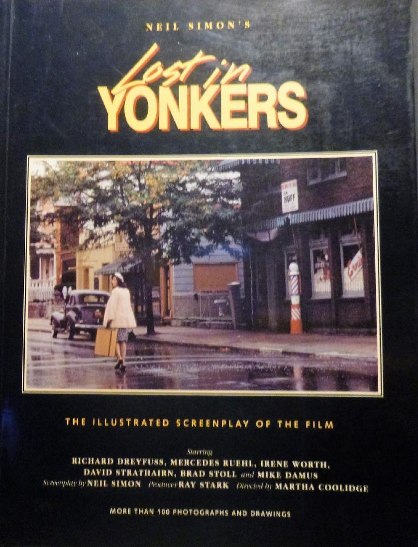 Lost in Yonkers Illustrated Screenplay Film -Signed