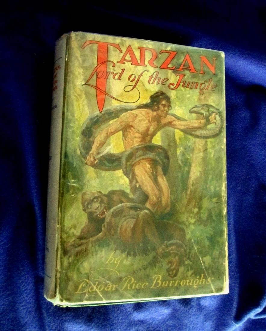 Tarzan Lord of the Jungle 1929 First Edition