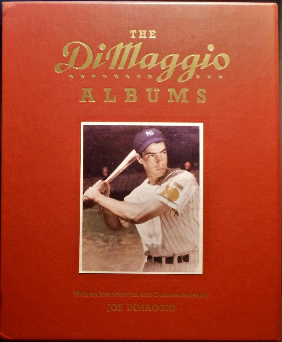The DiMaggio Albums Signed First Edition