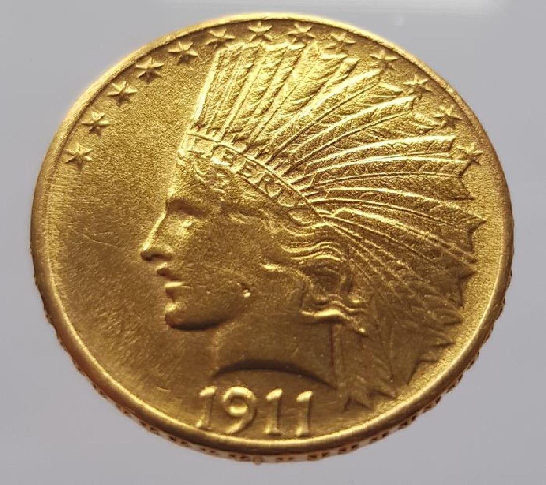 United States - 10 Dollars 1911 'Indian Head' - gold