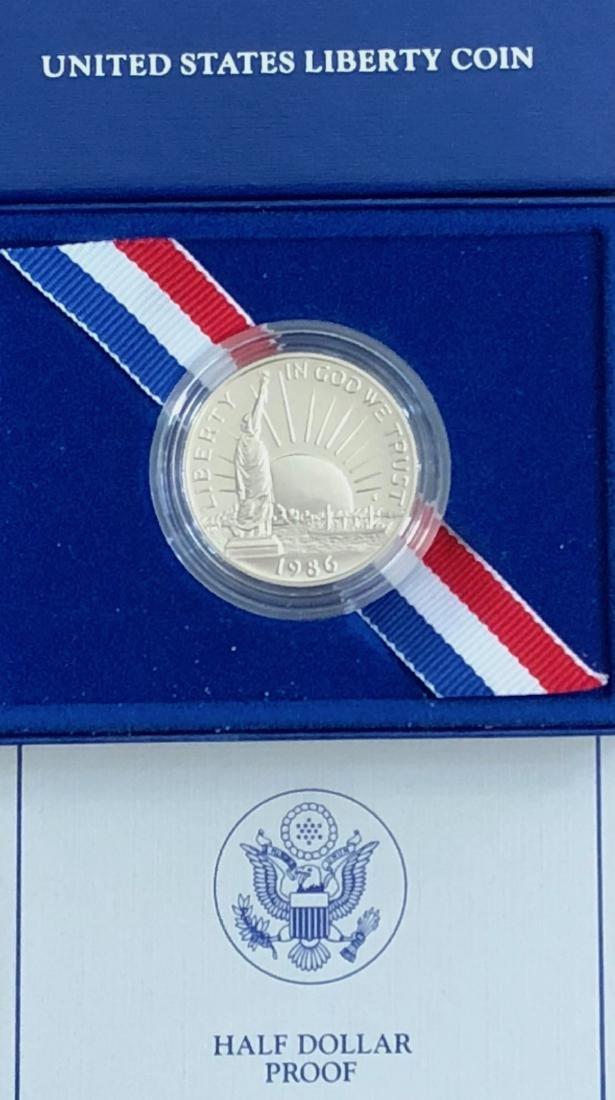 1986 S Liberty Half Dollar Proof