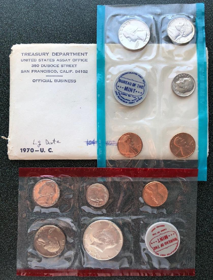 6 Uncirculated Mint sets
