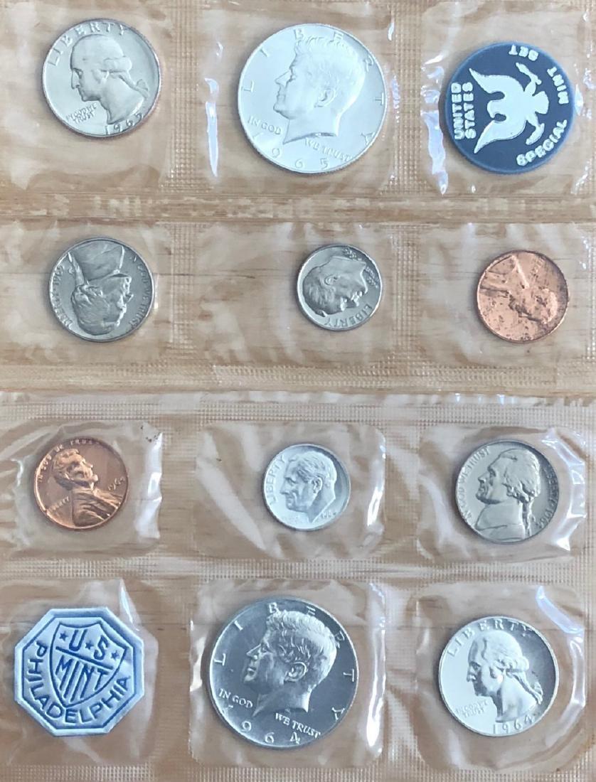 1964 & 1965 US Uncirculated Mint Sets