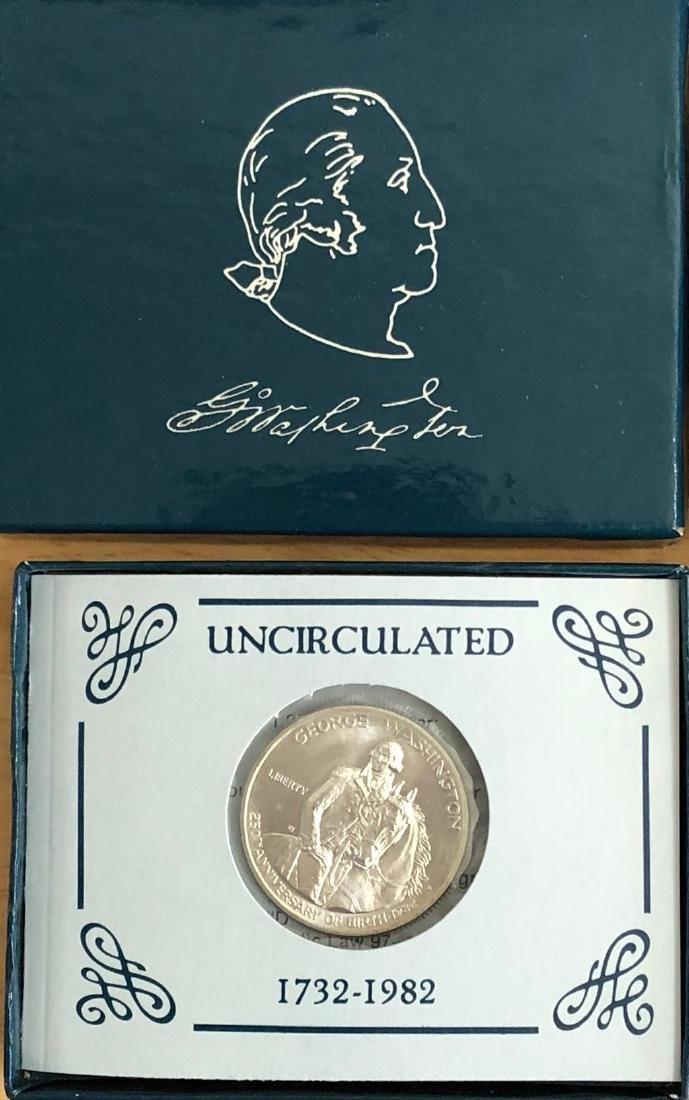 1982 D & S George Washington Commemoratives Proof & Unc