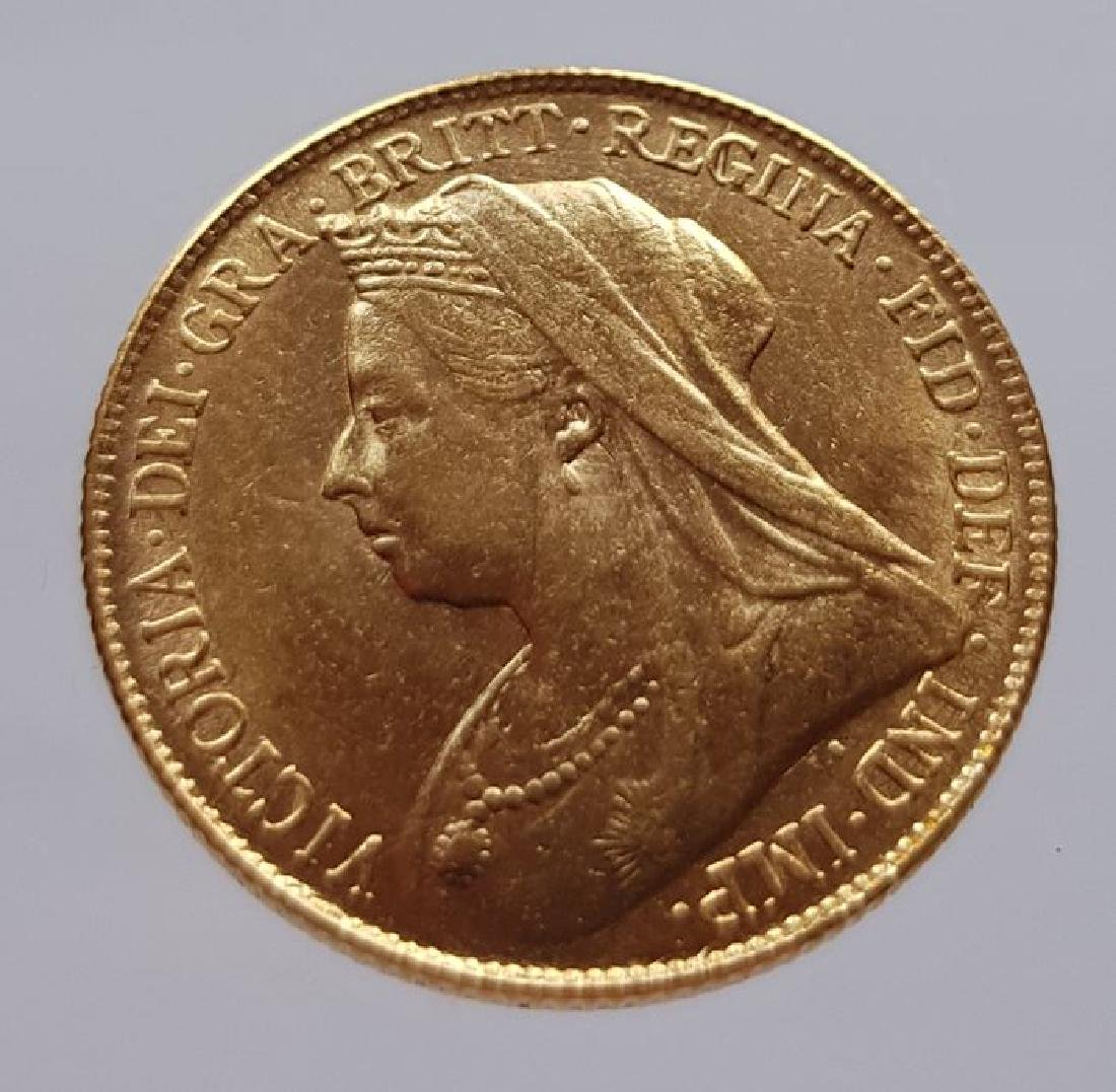 Great Britain - 1 Sovereign 1894 - Victoria - gold