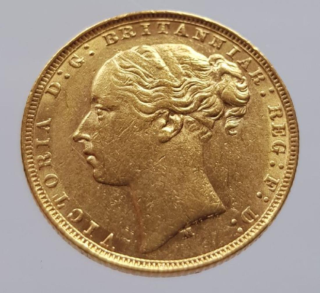 Australia - Sovereign 1881 M (Melbourne) Victoria gold