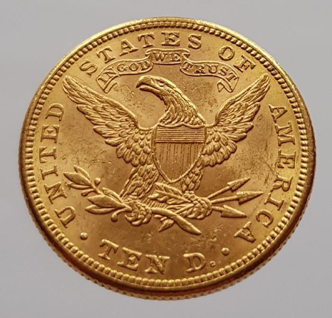 United States 10 Dollars 1883 Coronet Head / Eagle gold