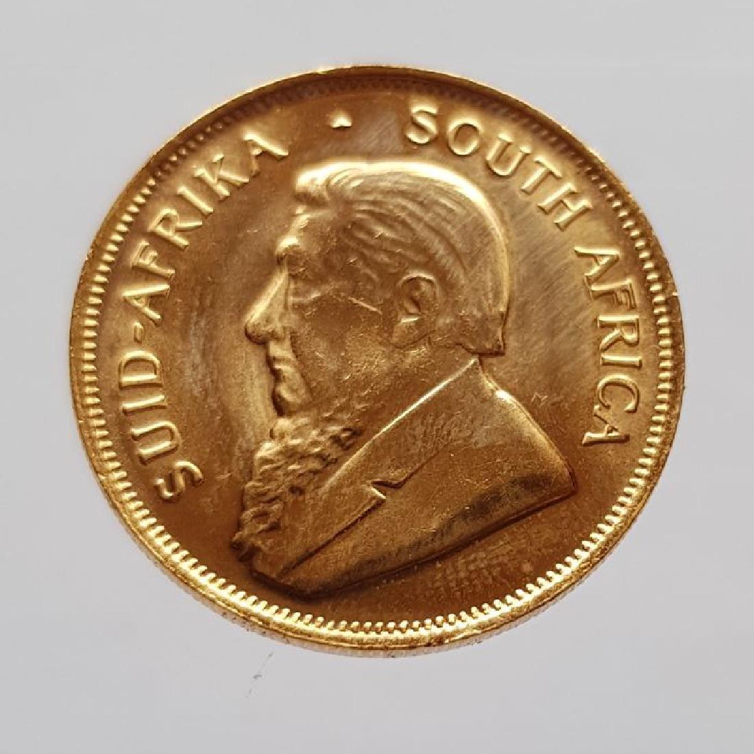 South Africa - 1/2 Krugerrand 1981 - 1/2 oz of gold