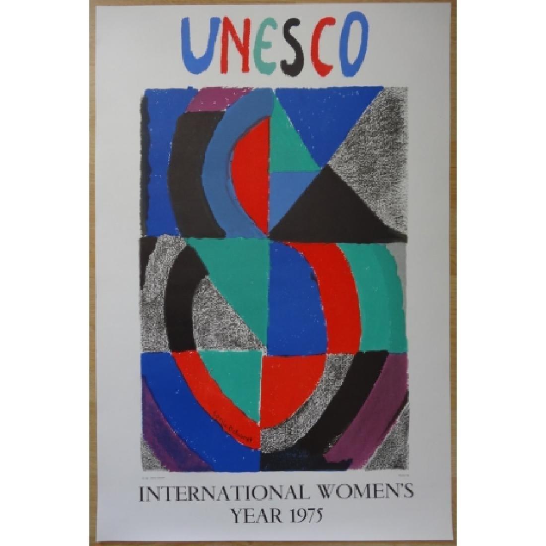 International women's year 1975 Lithograph