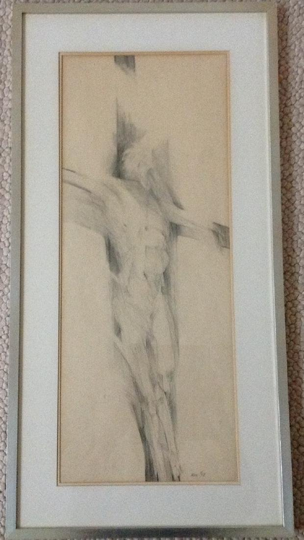 Howard Warshaw Pencil drawing signed/dated