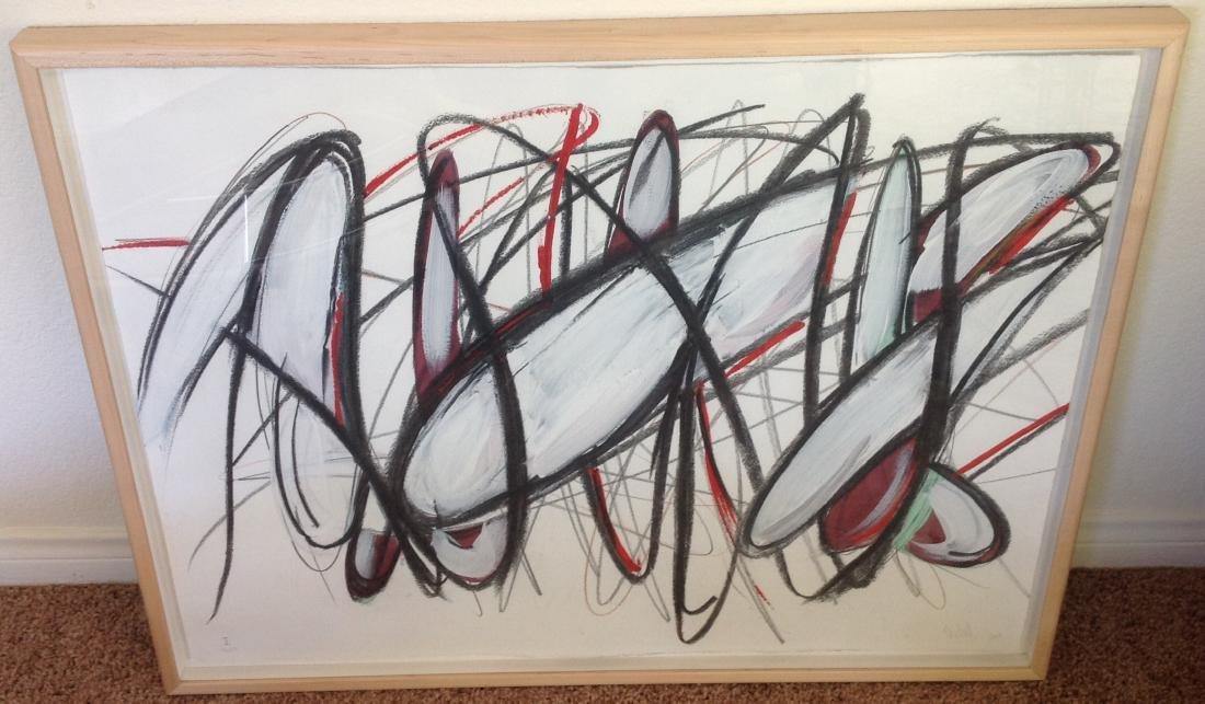 Guy Dill - Mixed Media Painting