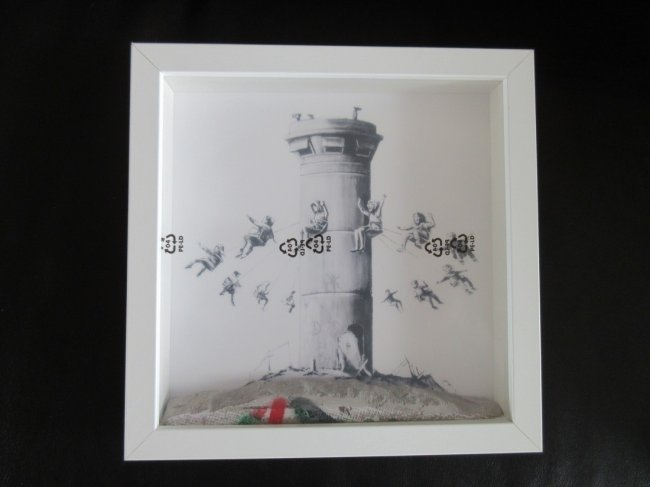 1st Edition Banksy Walled Off Hotel Ikea Box Set Print