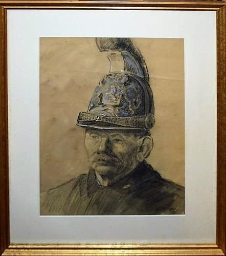 Dongen, Kees 1891 Drawing/Gouache Hand Signed
