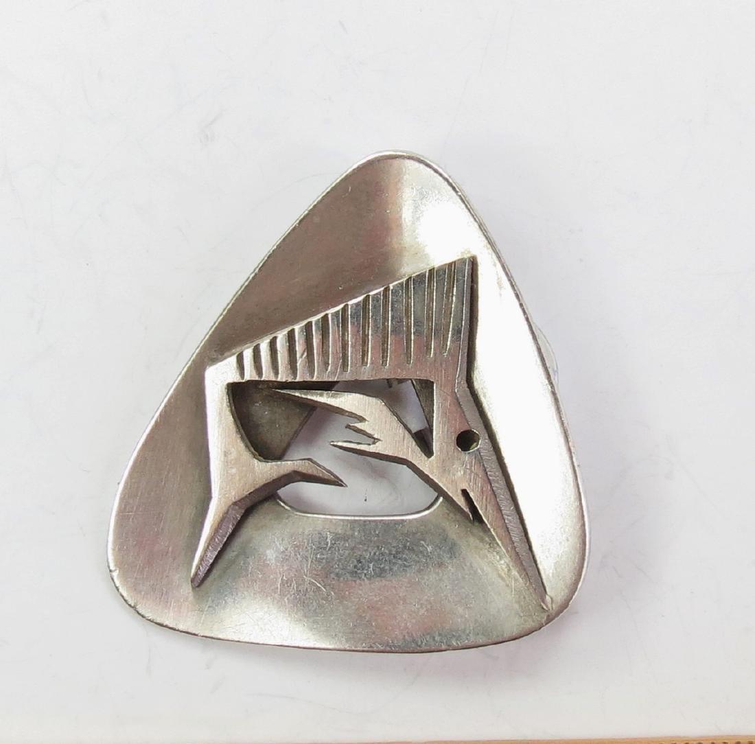 Sterling silver Taxco Mexico, Enrique Ledesma brooch