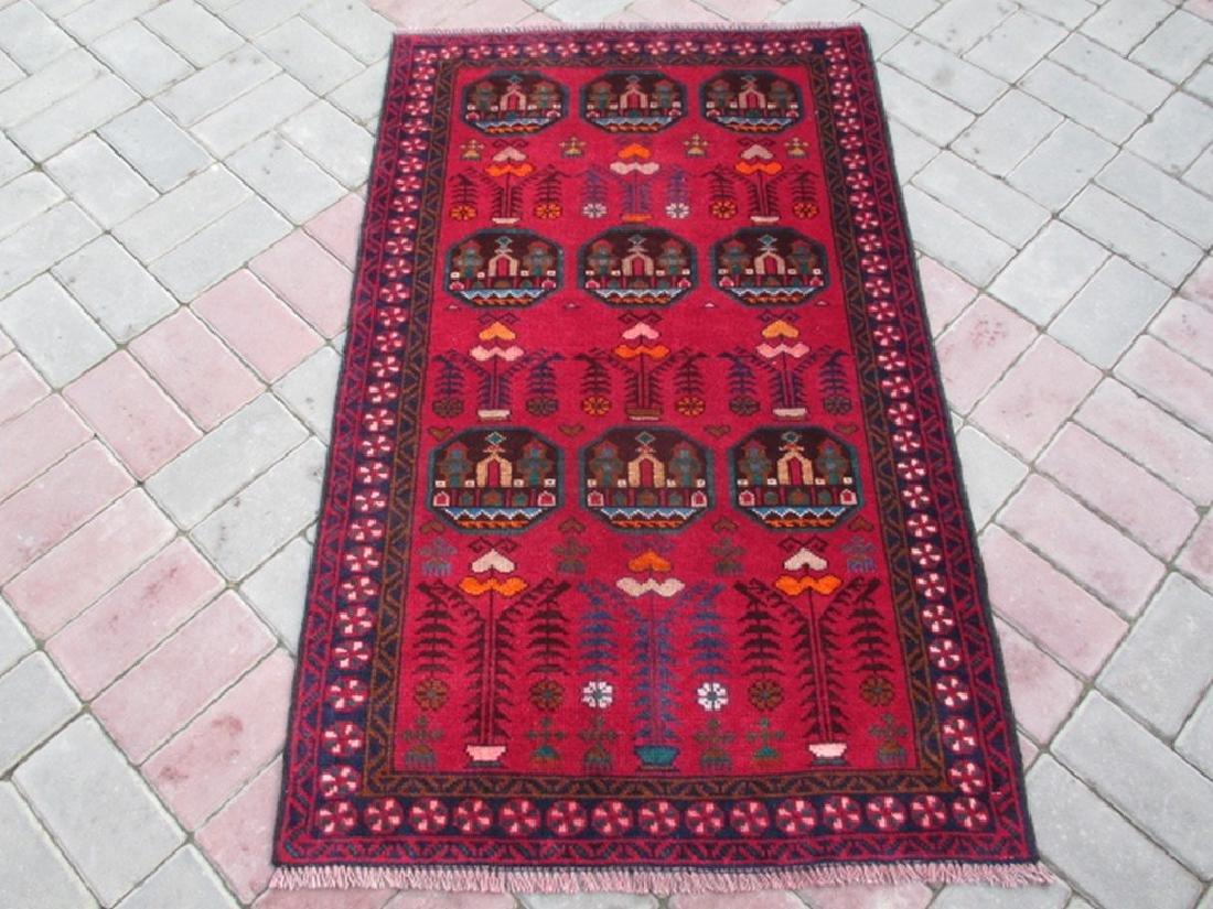 Old Baluchi Rug Rug 4.8x2.8